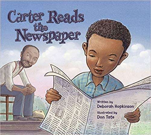 Carter Reads the Newspaper Winner of the Historical Category!