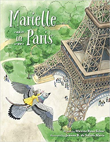 Marielle in Paris-Winner of the Picture Book-All Ages category