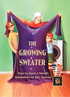 The Growing Sweater -Winner of the Humor Category!